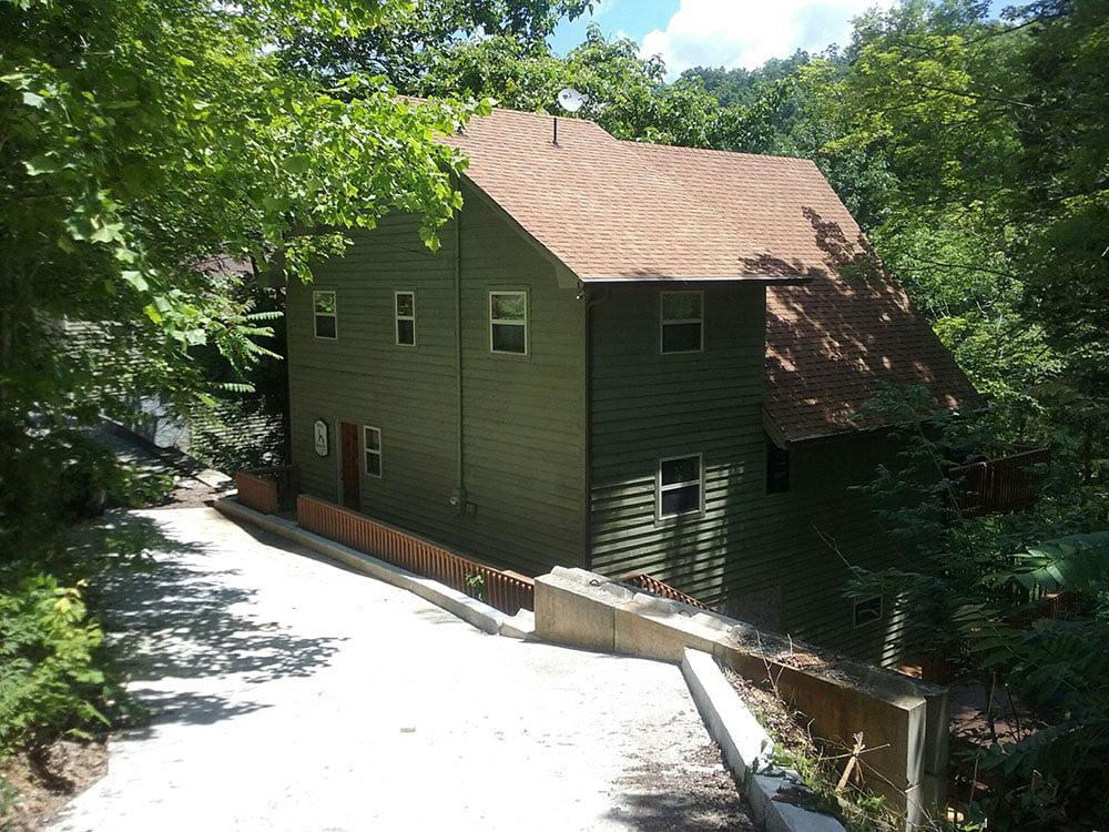 Norris Lake Cabin Rentals | Harmony Hill Lakeside Cabin | Norris Lake Villas
