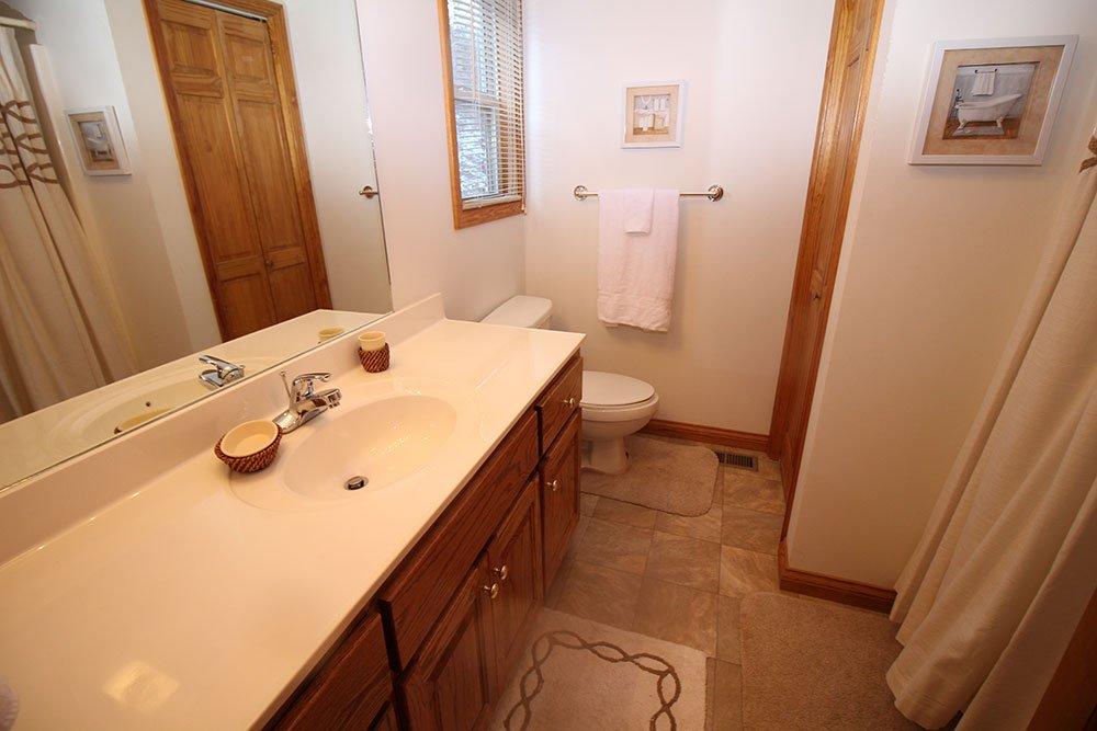Norris Lake Cabin Rentals | Harmony Hill Lakeside Cabin Master Bath | Norris Lake Villas