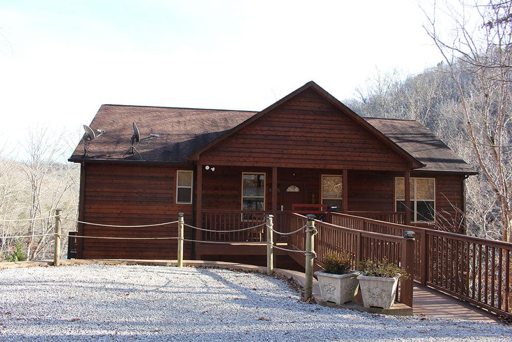 Norris Lake Cabin Rentals   Happy House Cabin   Norris Lake Villas