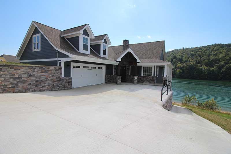 Norris Lake Cabin Rentals | J&J's Getaway Cabin View | Norris Lake Villas