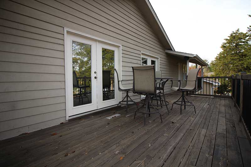 Norris Lake Cabin Rentals | Knot 4 Reel Cabin Deck | Norris Lake Villas