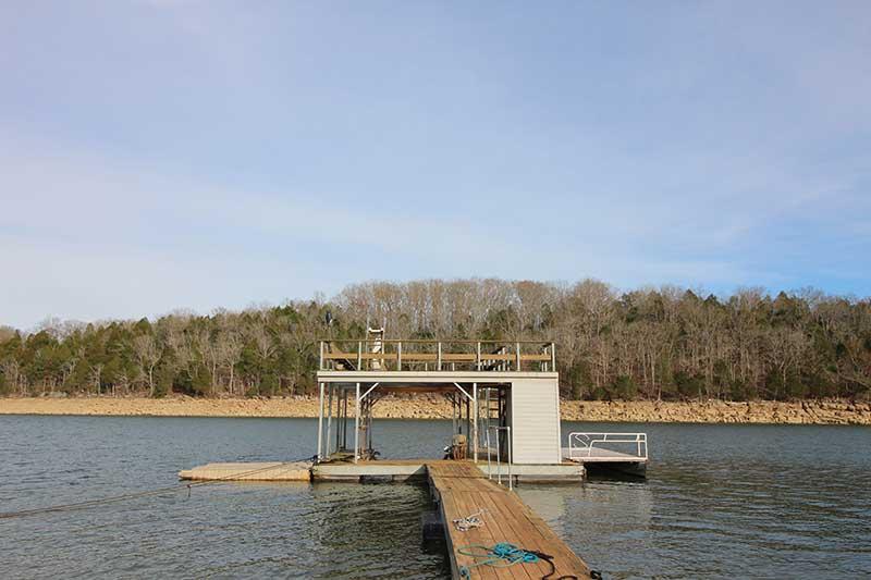 Norris Lake Cabin Rentals | Knot 4 Reel Cabin Dock | Norris Lake Villas
