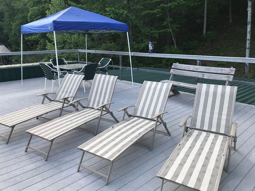 Norris Lake Cabin Rentals | Bent Ski Hideaway Lakeside Cabin Dock | Norris Lake Villas