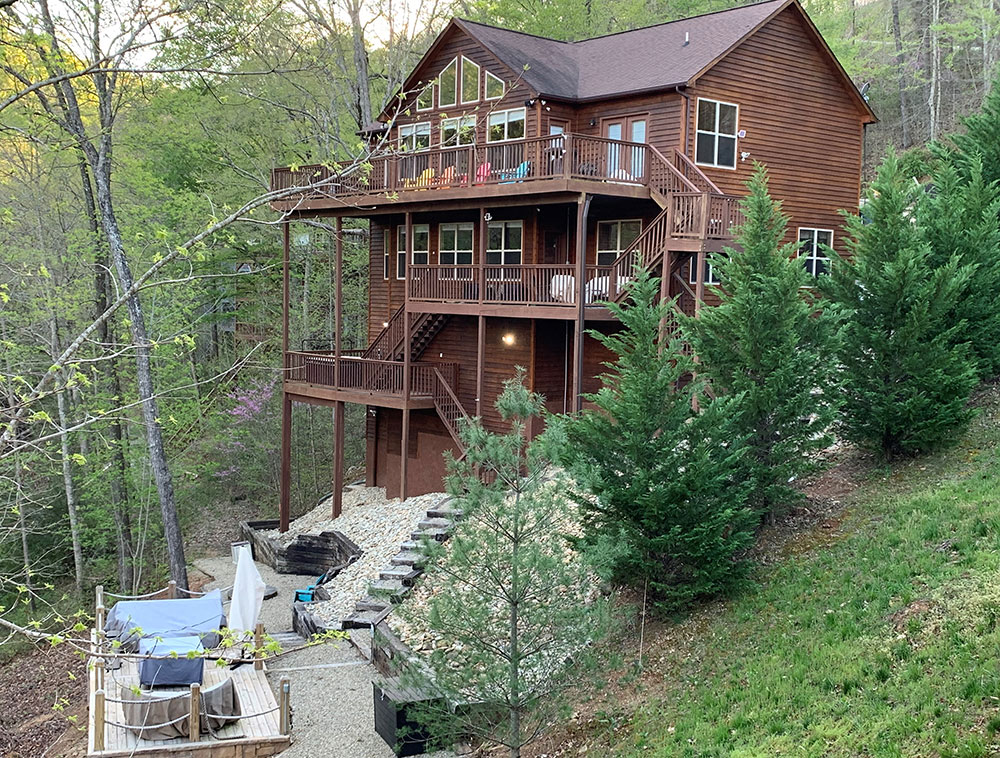 Norris Lake Cabin Rentals | Happy House Cabin | Norris Lake Villas