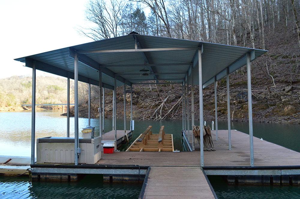 Norris Lake Cabin Rentals   Happy House Lakeside Cabin Dock   Norris Lake Villas