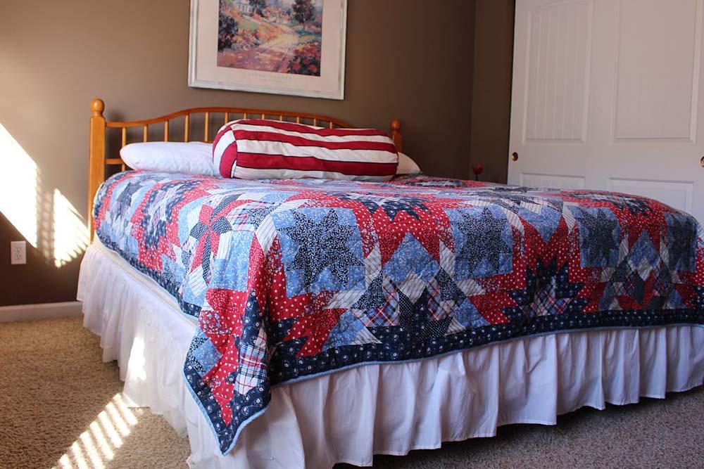 Norris Lake Villas | Norris Lake Cabin Rentals | Cedar Cove Lakeside Cabin Bedroom