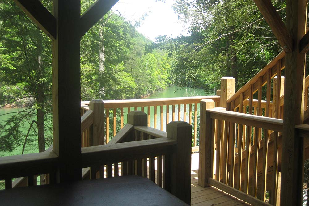 Norris Lake Villas | Norris Lake Cabin Rentals | Night Sky Lakeside Cabin