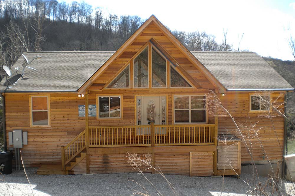 Norris Lake Cabin Rentals | Slice of Heaven Lake Side Cabin | Norris Lake Villas